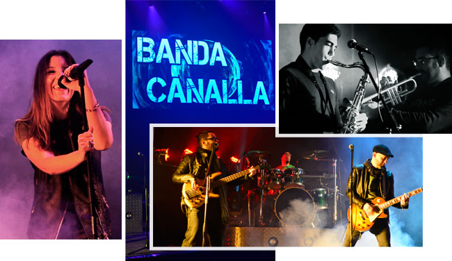Collage Orquesta Canalla